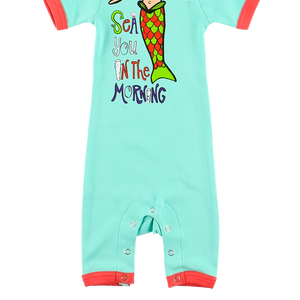 Sea You in the Morning Infant Romper 12M