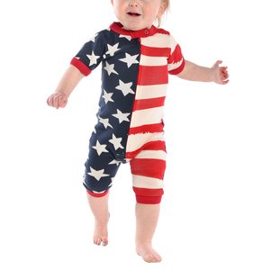 Stars and Stripe Infant Romper