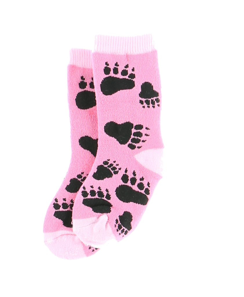 Bear Hug Pink Infant Sock