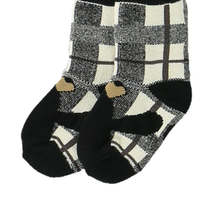 Bear Hug Grey Infant Sock