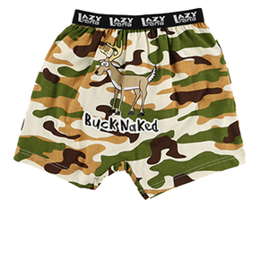 Buck Naked Camo Kid Boxer