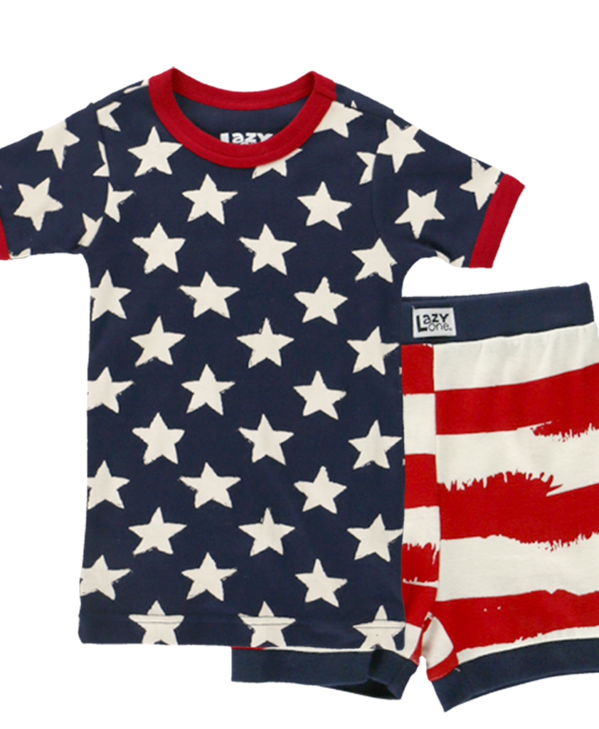 Stars & Stripes Kid Short PJ
