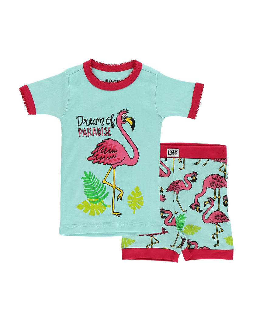 Flamingo Kid Short PJ