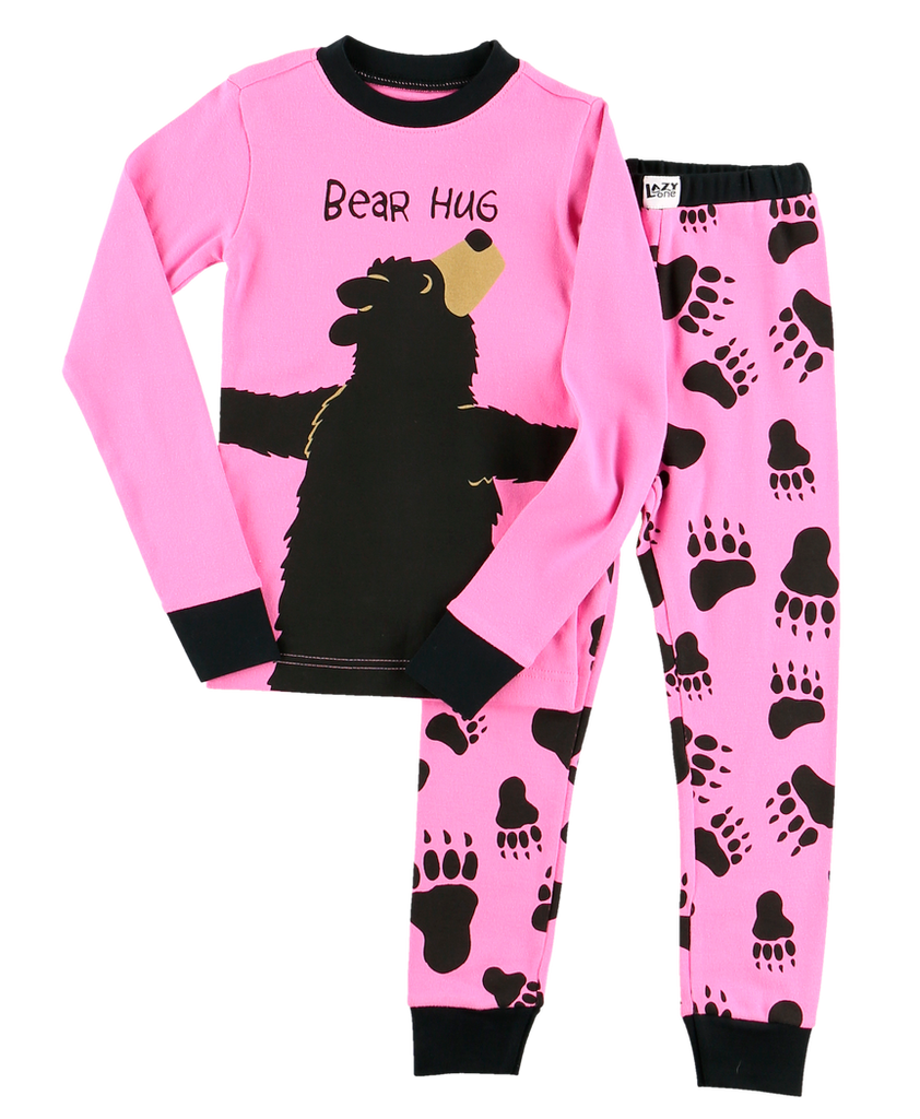 BEAR HUG PINK PJ Set