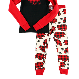 All Over Bear PJ Set