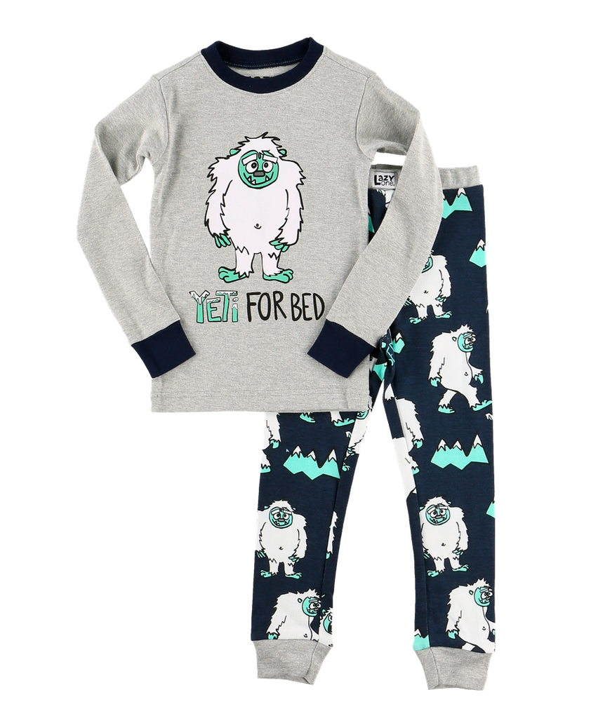 Yeti for Bed Boys PJ Set