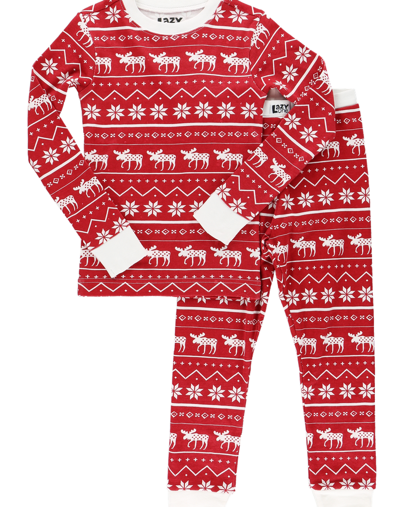 Nordic Moose PJ Set
