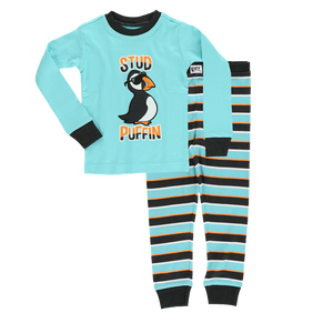 Stud Puffin PJ Set