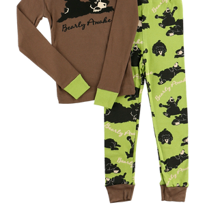 Bearly Awake Boy PJ Set