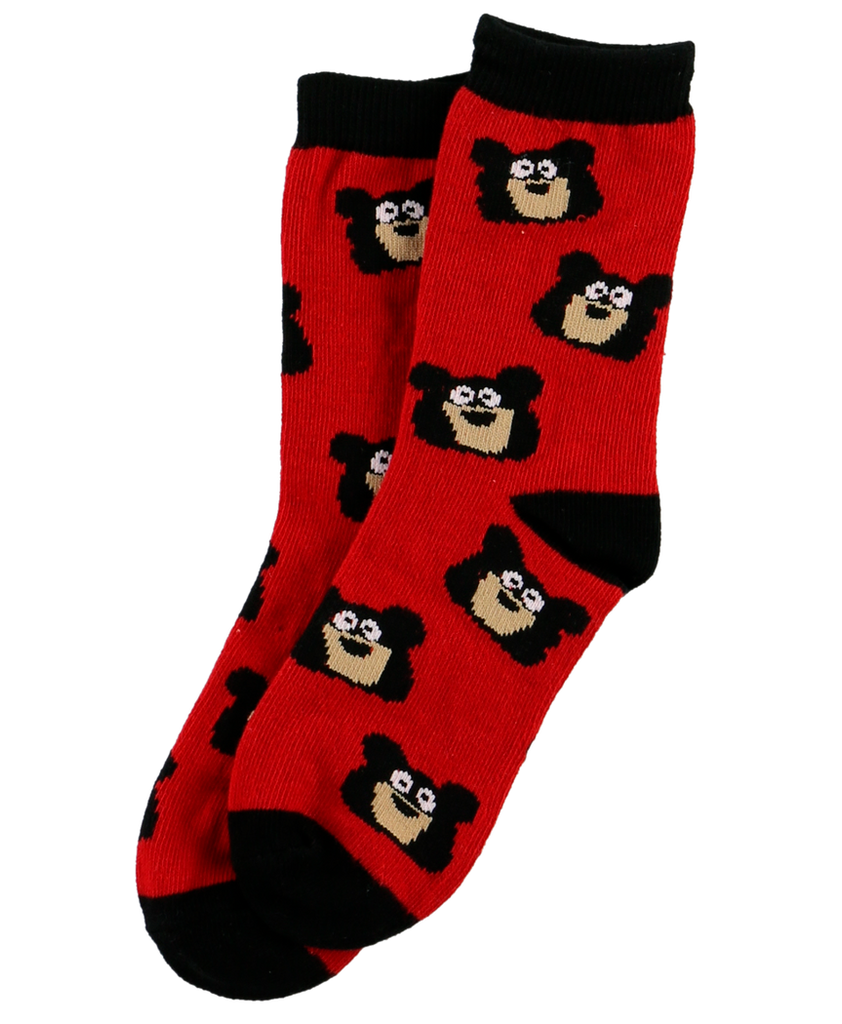 Bear Bum Kid Sock