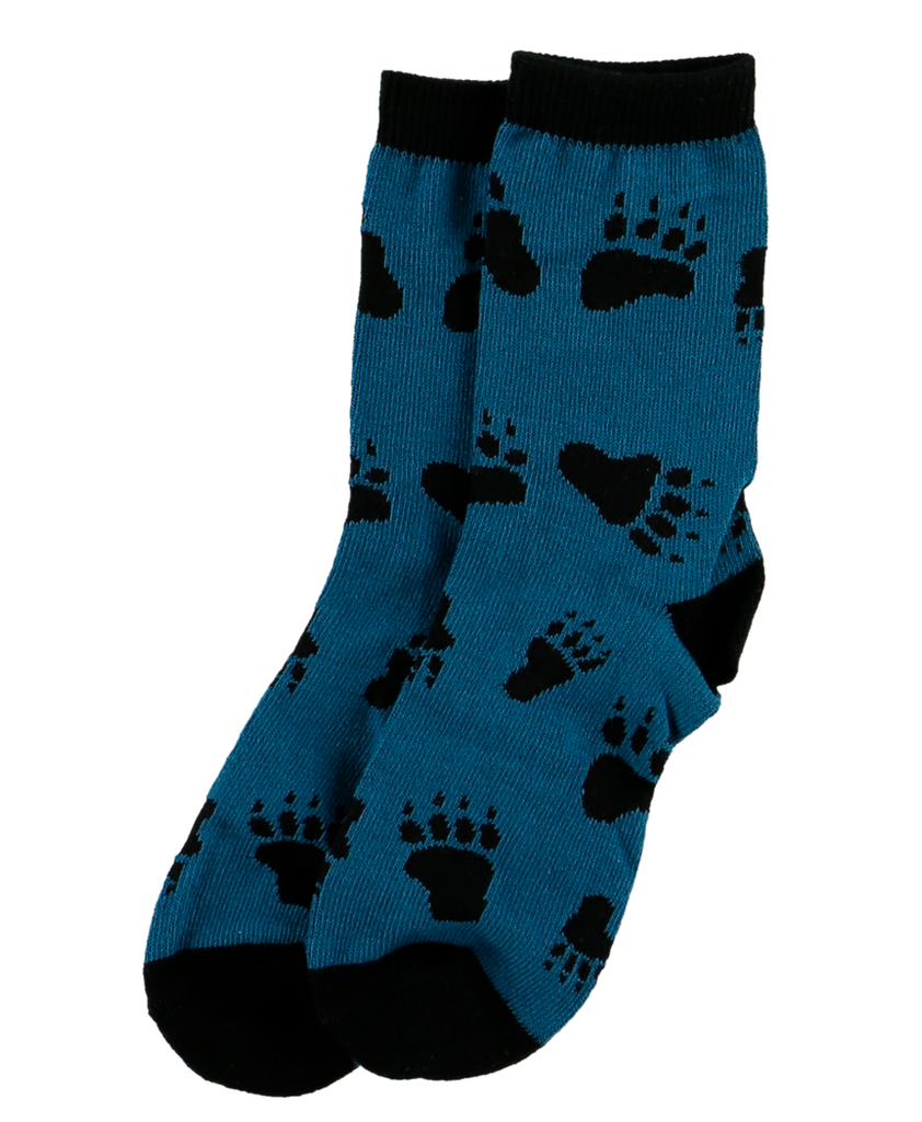 Bear Hug Blue Kid Sock