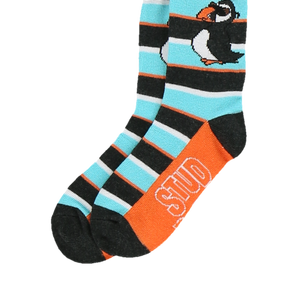 Stud Puffin Kid Sock