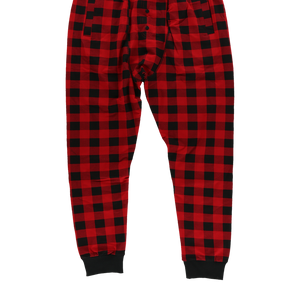 Red Plaid Long John