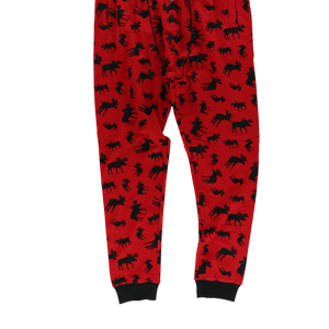 Moose Pattern Long John