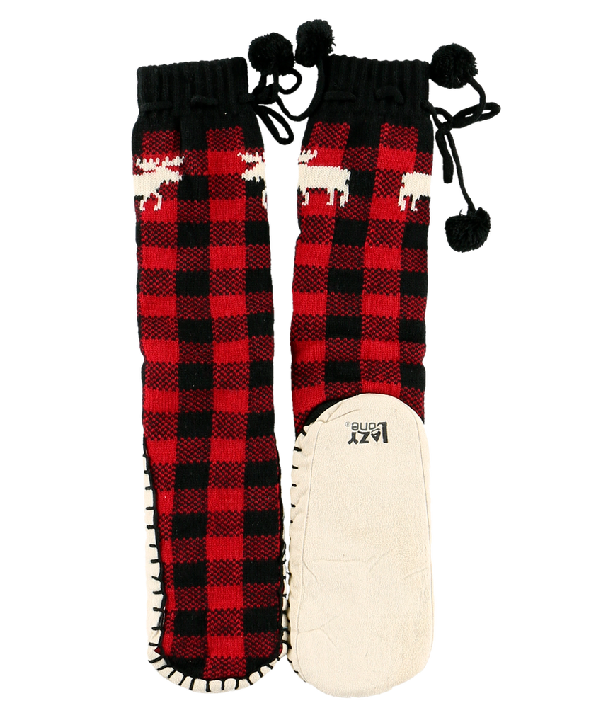 Moose Plaid Mukluk