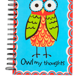 Owl My Thoughts Notebook