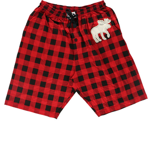 Moose Plaid PJ Shorts