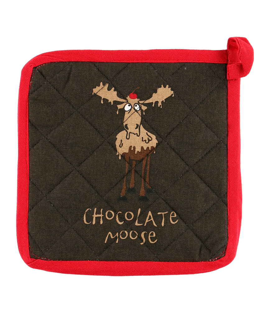Chocolate Moose Pot Holder