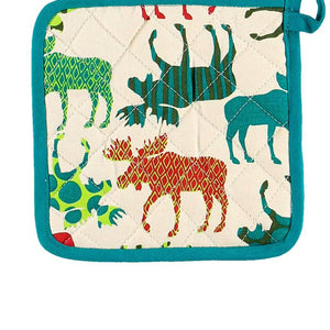 Pattern Moose Pot Holder