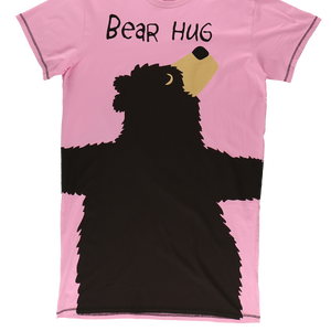 Bear Hug Pink Nightshirt