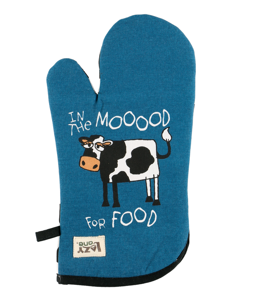 In the Mood for Food Oven Mitt