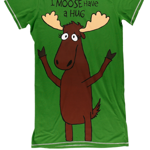 Moose Have a Hug Nightshirt