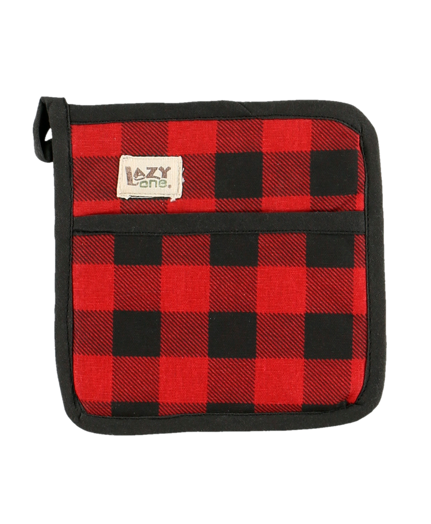 Red Plaid Pot Holder