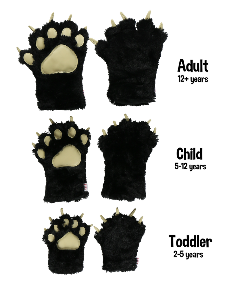 Black Paw Mitts