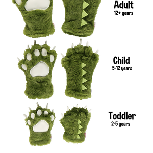 Dino Paw Mitts