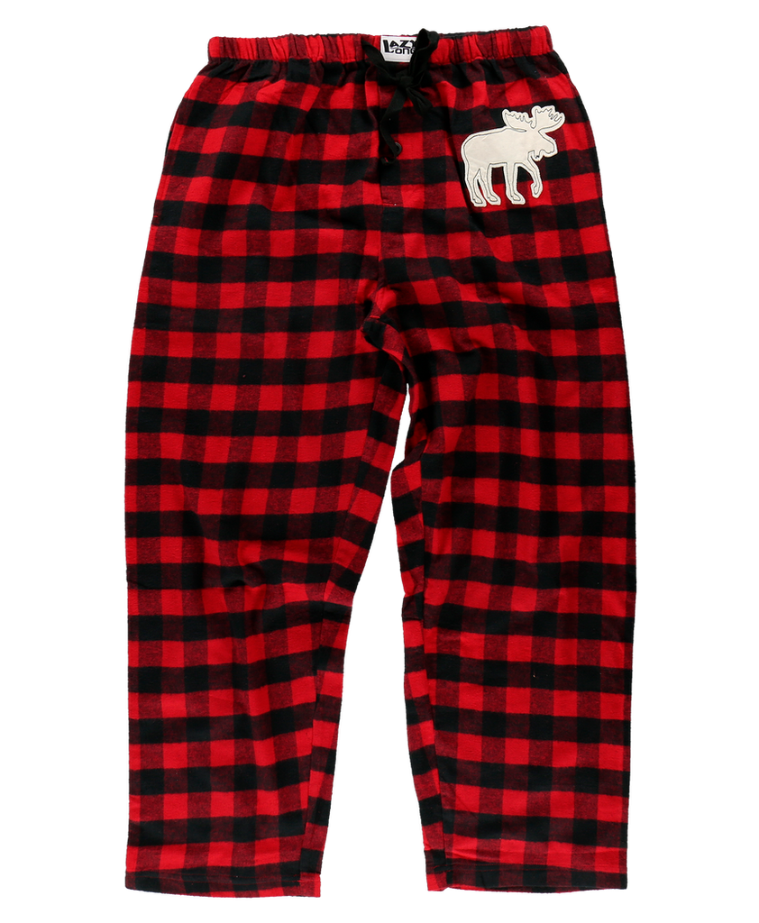 Moose Plaid UNISEX PJ Pant