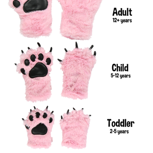 Pink Paw Mitts Child
