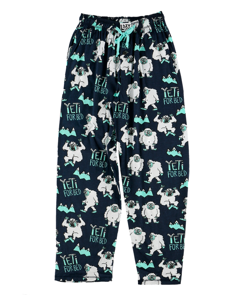Yeti For Bed PJ Pant
