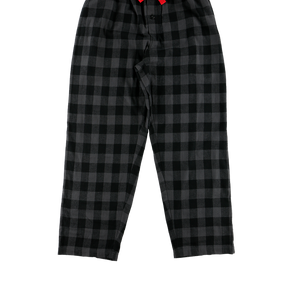 Grey Plaid PJ Pant
