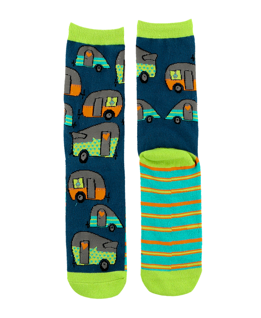 Night Out Campers Sock