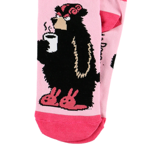 Bear in the Morning Sock