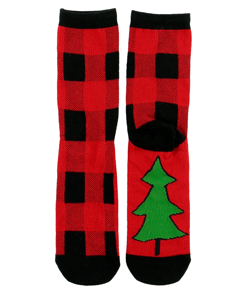 Plaid Sock