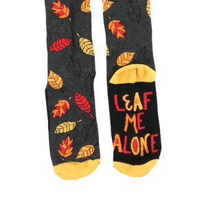 Leaf Me Alone Sock