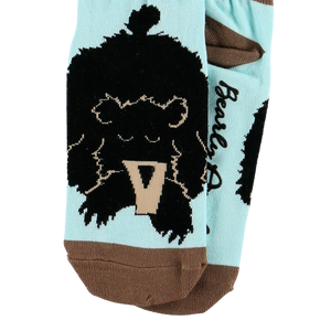 Bearly Awake Slipper Sock