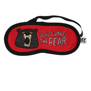 Don't Wake Bear Sleep Mask