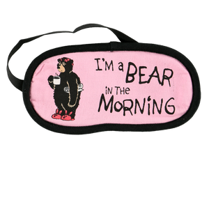 Bear in the AM Sleep Mask