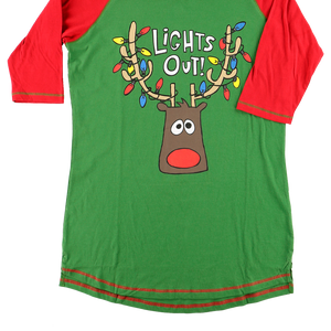 Lights Out PJ Tall Tee
