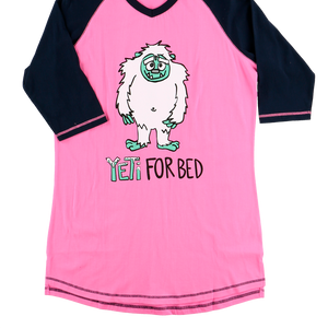 Yeti For Bed PJ Tall Tee