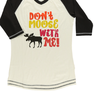 Don't Moose W Me PJ Tall Tee