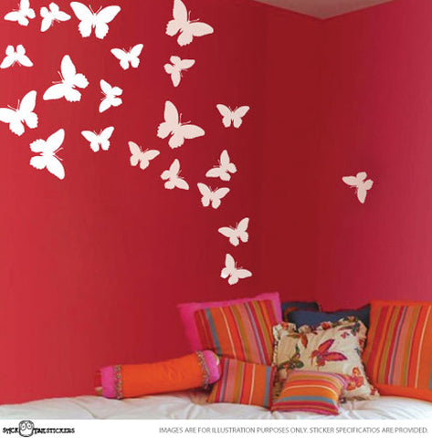 Cute Butterflies Vinyl Art