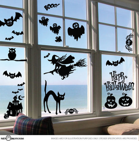 Halloween Window Sticker