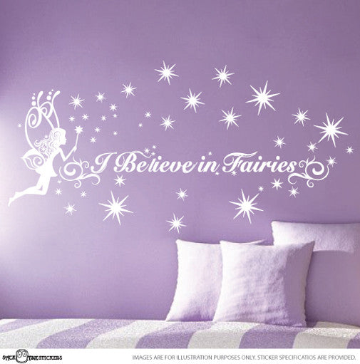 I believe in Fairies with Fairy and Magic Wand
