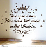 Little Prince Nursery Vinyl Decal Sticker