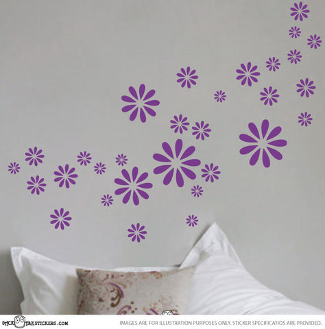 Daisy Decorative Stickers