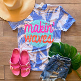 Makin' Waves Tie Dye Tee