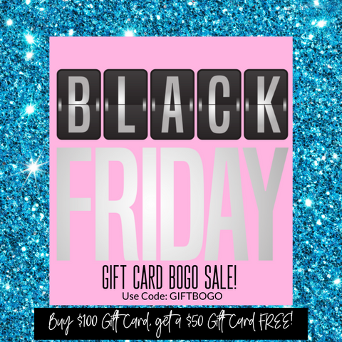 JINGLE ALL THE WAY-Black Friday Steal Giftcard BOGO